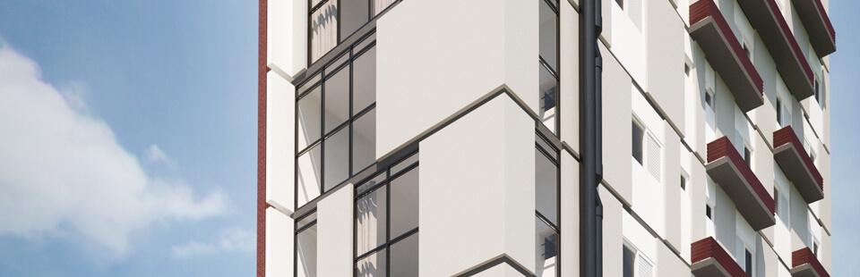 Visão Externa Edifício Universitá