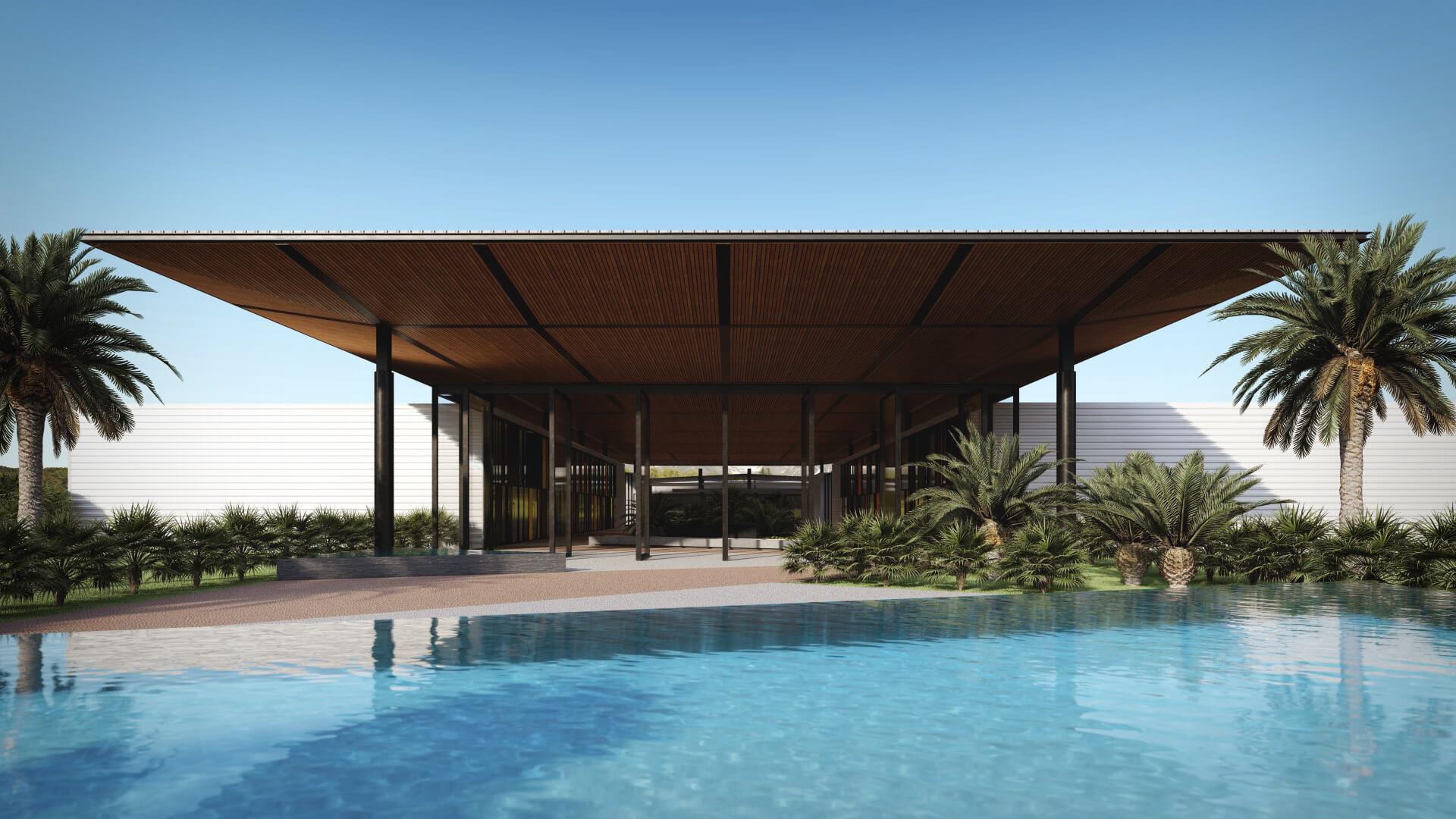 Projeto que expressa a visão de um arquiteto