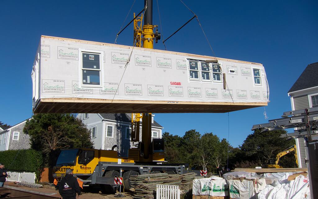 Módulos transportados, colocando um fim na construção tradicional