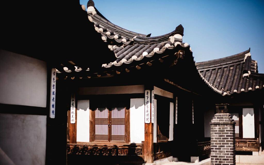 Casa de estilo oriental